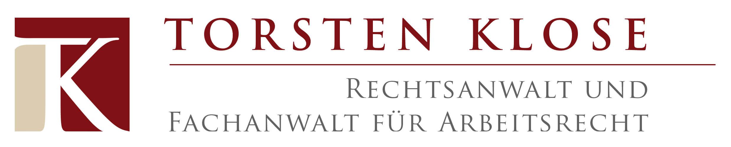Anwalt für Arbeitsrecht München, Anwalt für Verkehrsrecht München Torsten Klose (Logo)